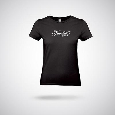 T-Shirt / Black family