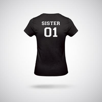 T-Shirt / Black Sister 01