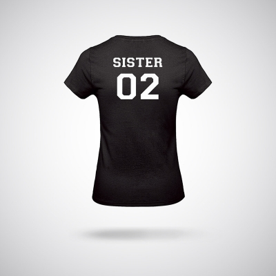 T-Shirt / Black Sister 02