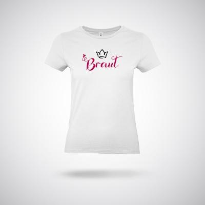 T-Shirt / White Braut