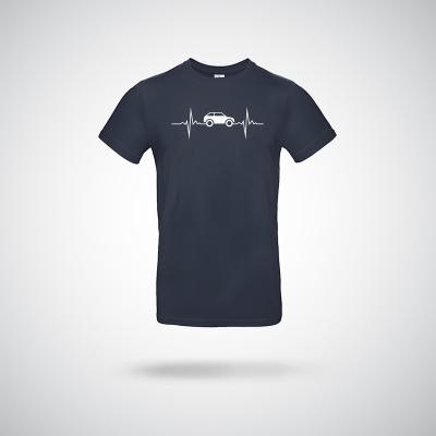 T-Shirt  Auto Herzschlag
