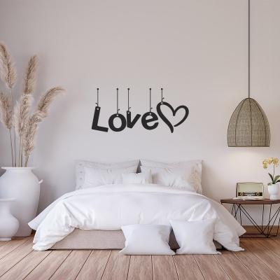 Wandtattoo Love