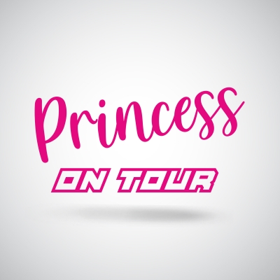 Aufkleber Princess on tour