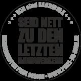 Aufkleber Handwerk / schwarz / 120 x 120 mm