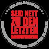 Aufkleber Handwerk / rot / 120 x 120 mm